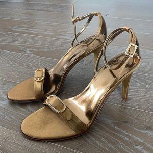 NEW! Franco Sarto Satin Evening Sandal   9M
